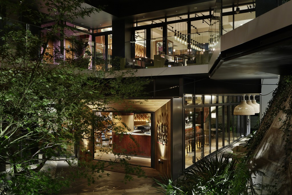ラスドスカラス 原宿メキシカンレストラン
